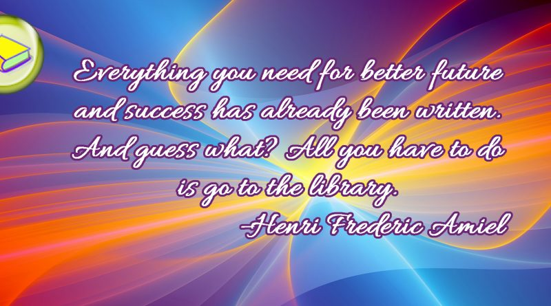 Library Quotation