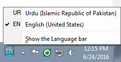 Install Urdu Phonetic Keyboard - Library and Information