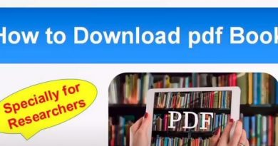 How to Download pdf Books/ Specially for Researchers